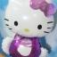 ลูกโป่งฟลอย์ Hello Kitty สีม่วง - Hello Kitty Purple color Foil Balloon / Item No. TL-A123 thumbnail 1