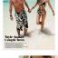 พร้อมส่ง ชุดว่ายน้ำคู่รัก ชุดว่ายน้ำบิกินี่ทูพีซ ลายดอกไม้สีขาวดำ พร้อมผ้าคลุมสวยๆ thumbnail 7