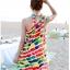 พร้อมส่ง ชุดว่ายน้ำคู่รัก บิกินี่ เซ็ต 3 ชิ้น colorful สีสันสดใส (บรา+บิกินี่+ผ้าคลุมซีทรู) thumbnail 7