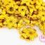 ลูกปัดพลาสติกเคลือบสีทอง ดอกไม้ 15มิล (1ขีด/100กรัม) thumbnail 1