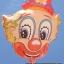ลูกโป่งฟลอย์ลายหน้าโบโซ่ - Bozo Face Foil Balloon / Item No. TL-A072 thumbnail 1