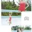 พร้อมส่ง ชุดว่ายน้ำวันพีซ Monokini สายเสื้อเดี่ยว แต่งระบายด้านหน้า หลังเว้าลึก น่ารักสไตล์เกาหลี thumbnail 42