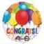 ลูกโป่งฟลอย์นำเข้า Bold Congratulations Balloons / Item No. AG-26893 แบรนด์ Anagram ของแท้ thumbnail 1