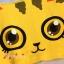 เสื้อคลุมท้องเปิดให้นม ลายแมวน้อยตาโต : สีเหลือง รหัส MN053 thumbnail 6