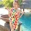 พร้อมส่ง ชุดว่ายน้ำคู่รัก บิกินี่ เซ็ต 3 ชิ้น colorful สีสันสดใส (บรา+บิกินี่+ผ้าคลุมซีทรู) thumbnail 12