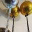 """ลูกโป่งฟอลย์ ทรงกลมลูกบอลสีเงิน ไซส์ 22"""" ORBZ SILVER/ Item No.TQ-A2820199 แบรนด์ Qualatex thumbnail 3"""