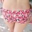 พร้อมส่ง ชุดว่ายน้ำบิกินี่ทูพีซ ลายดอกไม้เล็กๆ โทนสีแดง น่ารัก thumbnail 10