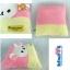 หมอนอิง โคะรีแลคคูมะ-สีครีม สี่เหลี่ยมจัตุรัส 15นิ้ว thumbnail 2