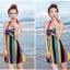 พร้อมส่ง 2XL ชุดว่ายน้ำวันพีซ สายคล้องคอ หลากสีสันสุดสวย thumbnail 4