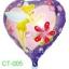 ลูกโป่งฟลอย์ลายทิงเกอร์เบลล์ ทรงหัวใจ (แพ็ค10ใบ) / Item No. TL-A020 thumbnail 1
