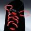 เชือกผูกรองเท้าไฟสีแดง Shoelace - LED Red color thumbnail 3