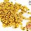 ลูกปัดพลาสติกเคลือบสีทอง กลม 3มิล(1ขีด/100กรัม) thumbnail 1