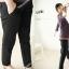 กางเกงคลุมท้องขายาว สีดำ : SIZE L รหัส PN008 thumbnail 3