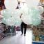 """ลูกโป่งจัมโบ้ สีขาว ขนาด 24 นิ้ว - Round Jumbo Balloon White color 24"""" thumbnail 1"""