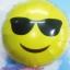 ลูกโป่งฟลอย์กลมสีเหลือง พิมพ์ลายหน้ายิ้ม (ใส่แว่น) TL-A140 ไซส์ 18 นิ้ว/Item No.TL-A140 thumbnail 1