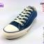 ผ้าใบ Converse All Star cotton ox Blue สี ฟ้า เบอร์4-10 thumbnail 2