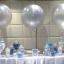 """ลูกโป่งกลมจัมโบ้ไซส์ใหญ่ 30""""Latex Balloon RB Silver สีเงิน / Item No. TQ-38402 แบรนด์ Qualatex thumbnail 4"""