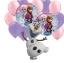 ลูกโป่งฟลอย์การ์ตูน เจ้าหญิงโฟรสเซนต์ทรงกลม - Round shape Frozen Princess Foil Balloon / Item No. TL-A097 thumbnail 3
