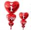 ลูกโป่งฟลอย์รูปหัวใจ สีแดง I LOVE YOU ต่อกัน-Love Series Heart Shape Foil Balloon / Item No.TL-E050 thumbnail 8