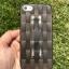 ** พร้อมส่งค่ะ ** เคส iPhone 5/5s/se ลายสาน สีดำใส thumbnail 1