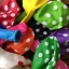 """ลูกโป่งกลมพิมพ์ลายจุด Polka Dot ไซส์ 12 นิ้ว คละสี แพ็คละ 100 ใบ (Round Balloons 12"""" - Polka Dot Printing latex balloons) thumbnail 3"""