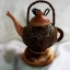 โคมไฟกะลามะพร้าวรูปกาน้ำ Coconut Shell Lamp thumbnail 3