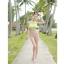 PRE ชุดว่ายน้ำบิกินี่ บรามีโครง สายคล้องคอ กางเกงบิกินี่ พร้อมเสื้อคลุมลายสวยเก๋ thumbnail 11