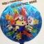 ลูกโป่งฟลอย์ ทรงกลมลายการ์ตูน Minion ตาเดียว - Minion one Eye round Shape Foil Balloon / Item No.TL-A052 thumbnail 1