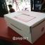 กล่องไปรษณีย์ ไดคัทสีขาว เบอร์ ข ขนาด 17x25x9 ซม. thumbnail 1