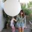 """ลูกโป่งกลมจัมโบ้ไซส์ใหญ่ 36"""" Latex Balloon RB WHITE 3FT สีขาว/ Item No. TQ-42847 แบรนด์ Qualatex thumbnail 12"""