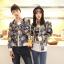 เสื้อกันหนาวคู่รักพร้อมส่ง แฟชั่นคู่รัก ชาย +หญิงเสื้อกันหนาวคู่รัก แบบซิบ ลายอวกาศ thumbnail 6