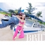 PRE ชุดว่ายน้ำเซ็ต 3 ชิ้น บรา กางเกงขาสั้น บวกกางเกงขายาวตัวนอก สีสันสดใสสุดชิค thumbnail 3