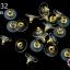 ตูดต่างหูสูญกาศ สีทอง 12มิล(10คู่) thumbnail 1