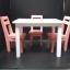 เซทโต๊ะเก้าีอี้จิ๋ว thumbnail 2