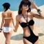 พร้อมส่ง ชุดว่ายน้ำวันพีซ Monokini สายคล้องคอ เอวเว้าลึก สวยเซ็กซี่มากๆ thumbnail 1