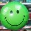 ลูกโป่งฟลอย์ทรงกลม หน้ายิ้ม ไซส์ 18 นิ้ว *มีหลายสีให้เลือกกรุณาระบุ* - Round Shape Smiley Face Foil Balloon / Item No.TL-G049 thumbnail 12
