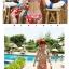 พร้อมส่ง ชุดว่ายน้ำบิกินี่ทูพีซ ลวดลายสีสันสดใส thumbnail 5