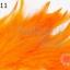 ขนนก สีส้ม 20 ชิ้น thumbnail 1