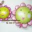 ลูกโป่งฟลอย์ Pink Flower หน้ายิ้ม ไซส์เล็ก - Pink Flower Small size Foil Balloon / Item No. TL-A074 thumbnail 5