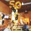 """ลูกโป่งฟอยล์รูปตัวเลข 0 สีทอง ไซส์จัมโบ้ 40 นิ้ว - Number 0 Shape Foil Balloon Size 40"""" Gold Color thumbnail 6"""
