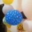 ลูกโป่ง LED พิมพ์ลายดาว คละสี แพ็ค 5 ชิ้น ไฟสลับสี (LED Balloon Star Mixed Color - LED RGB) thumbnail 3