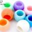 ลูกปัดพลาสติก สีพาลเทล ทรงโอ่ง คละสี 12X16มิล(1ขีด/100กรัม) thumbnail 1