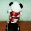 ตุ๊กตาหมีแพนด้า ขับรถจักรยาน ขยับได้จิง มีเสียงเพลง (มาใหม่) สินค้ามีจำนวนจำกัด thumbnail 3