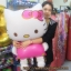 ลูกโป่งฟลอย์ Hello Kitty ไซส์ Jumbo (แพ็ค10ใบ)/ TL-A038 thumbnail 3