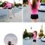 พร้อมส่ง ชุดว่ายน้ำแขนยาว เสื้อสีชมพูสวยๆ กางเกงขาสั้นสีดำ thumbnail 6