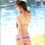 พร้อมส่ง ชุดว่ายน้ำบิกินี่ทูพีซ โทนสีส้มแดง สไตล์โบฮีเมียน พร้อมผ้าคลุมซีทรูสวยๆ เซ็ต 3 ชิ้น (บรา+บิกินี่+ผ้าคลุมผืนใหญ่) thumbnail 9