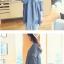K0804 เสื้อคลุมท้องแฟชั่นเกาหลี โทนสียีนส์ ผ้าฝ้าย เนื้อนิ่ม อย่างดีค่ะ แต่งด้วยลูกไม้ช่วงแขน ใส่สบาย ใส่แล้วไม่ร้อนค่ะ thumbnail 5