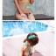 พร้อมส่ง ชุดว่ายน้ำ Bikini ผูกข้าง สายคล้องคอ ลายสวยๆ thumbnail 2