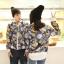 เสื้อกันหนาวคู่รักพร้อมส่ง แฟชั่นคู่รัก ชาย +หญิงเสื้อกันหนาวคู่รัก แบบซิบ ลายอวกาศ thumbnail 4