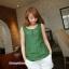 เสื้อคลุมท้องแขนกุด มีกระดุมปรับขนาด : สีเขียว รหัส SH165 thumbnail 5